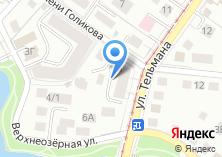 Компания «MATRIX VIP» на карте