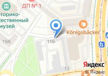 Компания «Городские электрические сети» на карте