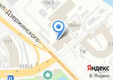 Компания «Ивеком» на карте