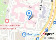 Компания «Калининградская областная клиническая больница» на карте