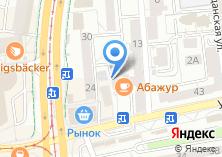Компания «Лион» на карте