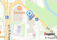 Компания «Розетка39» на карте