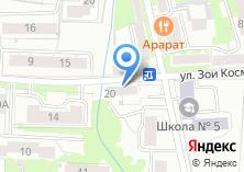 Компания «Продуктовый минимаркет» на карте
