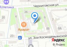 Компания «Иридиум» на карте
