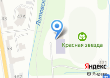 Компания «СДЮСШОР №7 по теннису и настольному теннису» на карте