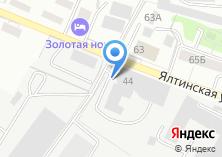 Компания «ДОЦ на Ялтинской» на карте