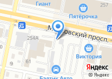 Компания «БалтикаАвто» на карте