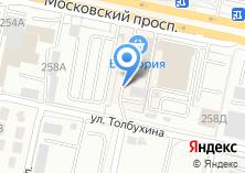Компания «Двигатель» на карте