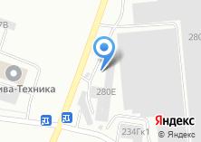 Компания «Кода» на карте