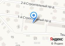 Компания «Строящийся коттеждный посёлок по ул. Малая Вокзальная (Рощино)» на карте