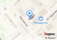 Компания «Продуктовый магазин на Лесной (Кировский район)» на карте
