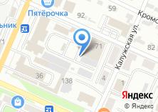 Компания «Автостоянка на Болховской» на карте