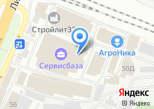 Компания «Сантехник» на карте