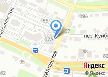 Компания «Интерьер» на карте
