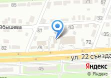 Компания «ТД СИНТЕЗ» на карте