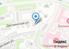 Компания «Живая вода-Брянск» на карте