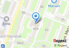 Компания «Универсальный магазин на ул. Молодой Гвардии» на карте