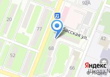 Компания «Народная» на карте