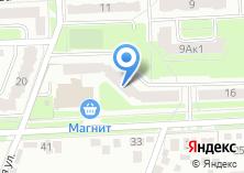 Компания «Радужное» на карте