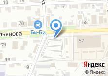 Компания «Автостоянка на ул. Ульянова» на карте
