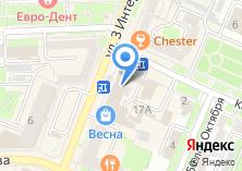 Компания «Брянская торгово-промышленная палата» на карте