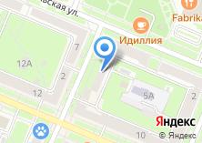 Компания «Техслав» на карте