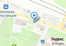 Компания «Матраскин» на карте
