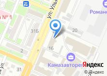 Компания «Intourist» на карте