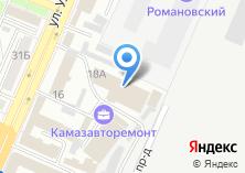 Компания «АвтоТранс-Логистик» на карте