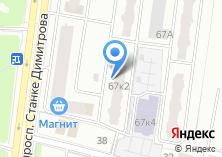 Компания «Строящийся жилой дом по ул. Станке Димитрова проспект» на карте