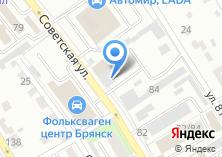 Компания «Иней сервис» на карте
