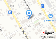 Компания «Строящийся жилой дом по ул. Фокина» на карте