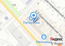 Компания «Тензор» на карте