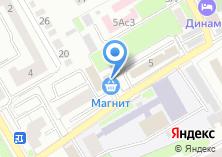 Компания «БИТ-Сервис» на карте