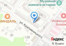 Компания «Центр лицензионно-разрешительной работы Управления МВД России по Брянской области» на карте