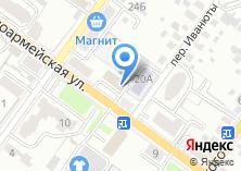 Компания «БрянскСтройНедвижимость» на карте