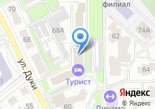 Компания «ДВЕРИ+» на карте