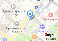 Компания «МЭТР» на карте