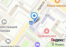 Компания «Брянский государственный инженерно-технологический университет» на карте