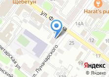 Компания «БОРДО» на карте