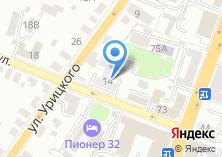 Компания «Банно-прачечный трест г. Брянска» на карте