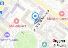 Компания «Управление Федеральной почтовой связи Брянской области» на карте