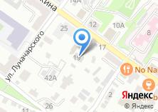 Компания «Российский профсоюз работников среднего и малого бизнеса» на карте