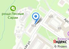 Компания «Отдел молодежной политики г. Брянска» на карте