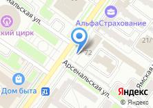 Компания «Магазин цветов на проспекте Ленина» на карте