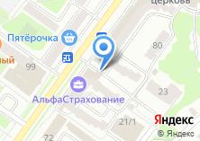 Компания «Брянская областная коллегия адвокатов» на карте