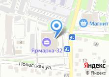 Компания «Модный базар» на карте