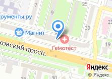 Компания «Магазин товаров для спорта и отдыха на Московском проспекте» на карте