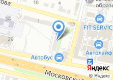Компания «Мастерская по резке стекла» на карте