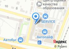 Компания «Технарь» на карте
